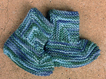 32 Zimmerman Baby Booties