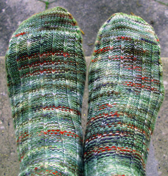29 Baby Backward Rib Socks