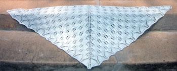 42b Shetland Triangle Shawl