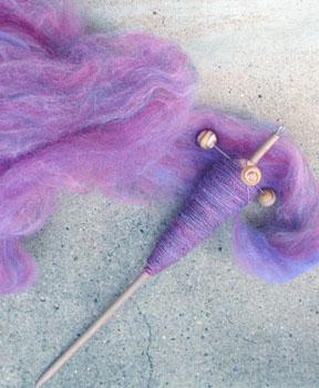 Spindle & fiber