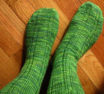 15 Madder Ribbed Socks