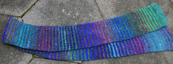 03 Noro Striped Scarf