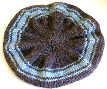 12a Slouche' Hat - Top
