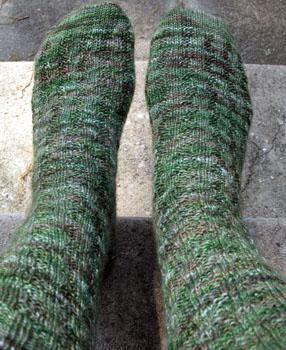 22 Weasley Rib Inverse Socks