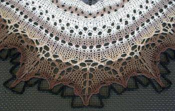 09b Icelandic Lace Shawl-Thordis